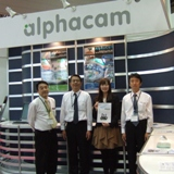 ALPHACAM Licom Systems (Japan) at JIMTOF Exhibition 1